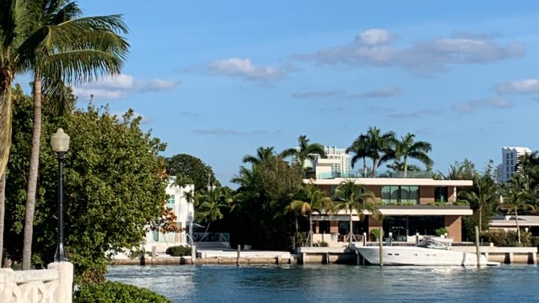 Venetian Islands in Miami Beach, Florida